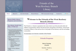 Screenshot: friendsofthewrlibrary.org
