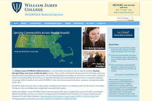 William James College INTERFACE Referral Service
