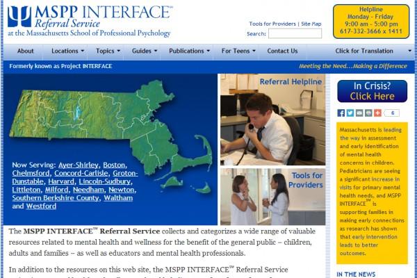 msppinterface.org screenshot