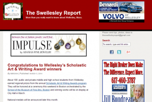 Screenshot: theswellesleyreport.com